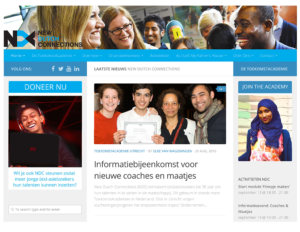 New Dutch Connections - vrijwilligers organisatie voor vluchtelingen