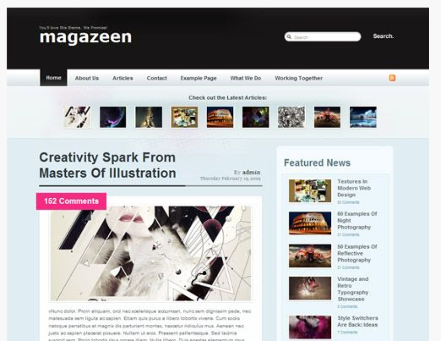 magazeen-wordpress